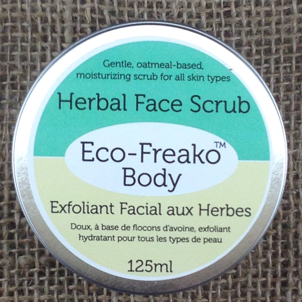 Oatmeal Herbal Face Scrub