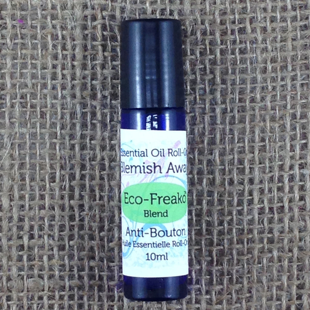 10ml bottle of Eco-Freako Blemish Away