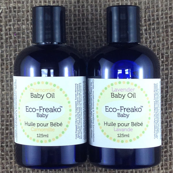 Baby Oil Petroleum Free