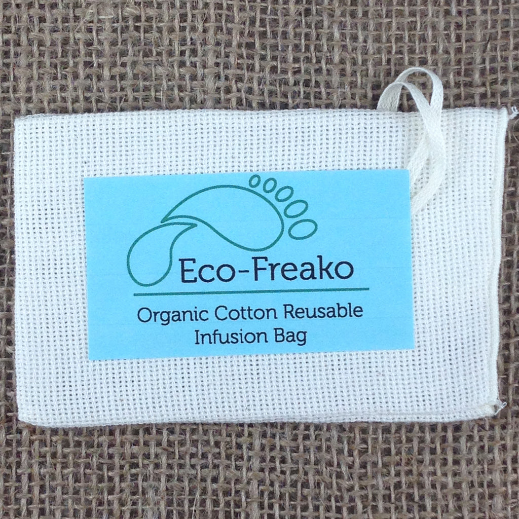 Eco-Freako Organic Cotton Infusion Bag