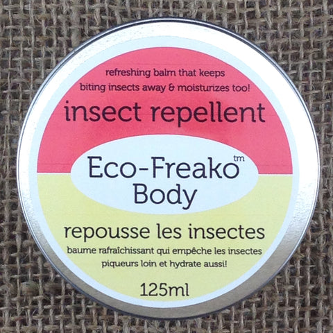 Eco-Freako Natural Insect Repellent in 125ml metal tin