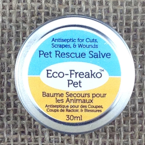Antiseptic Pet Rescue Salve in 30ml Metal Container