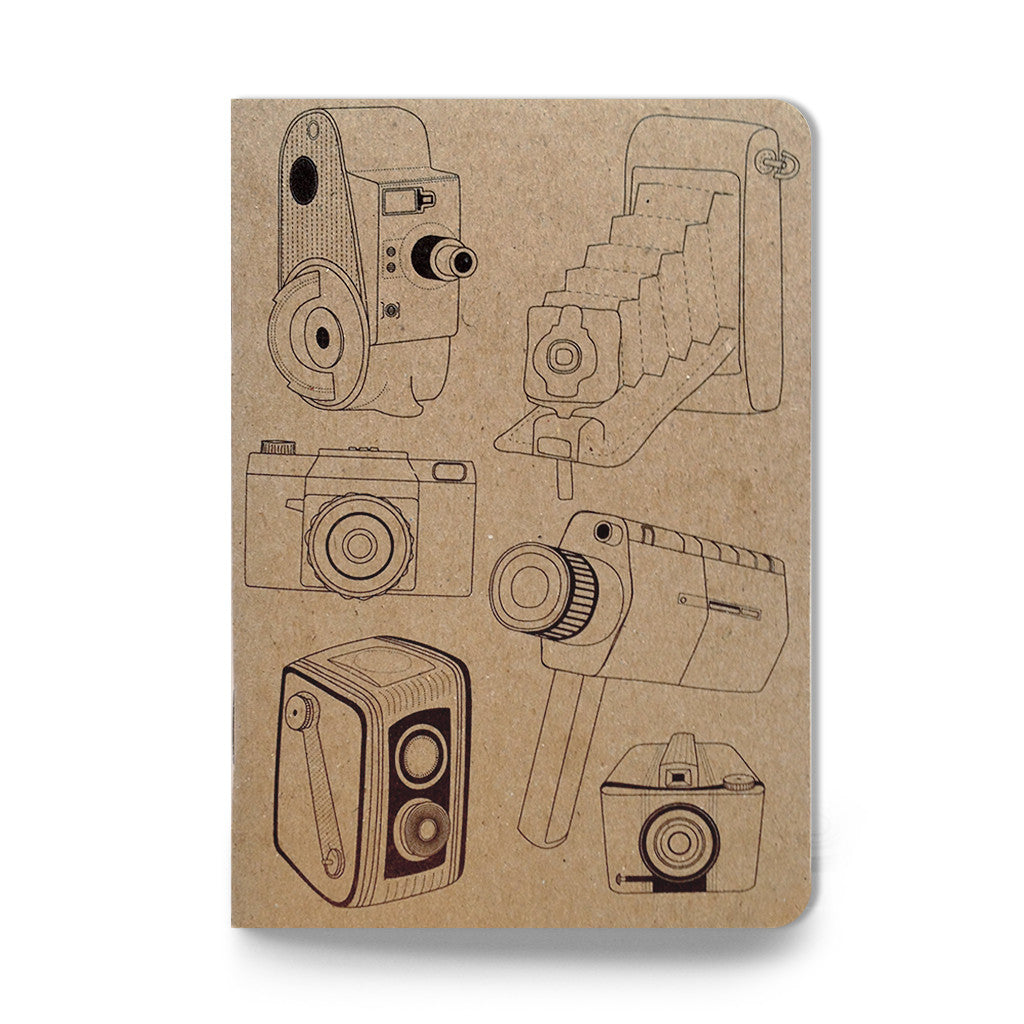 Cameras Galore pocket sketch notebook