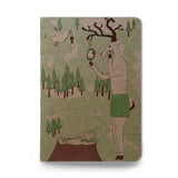 Grooming Deer pocket sketch notebook