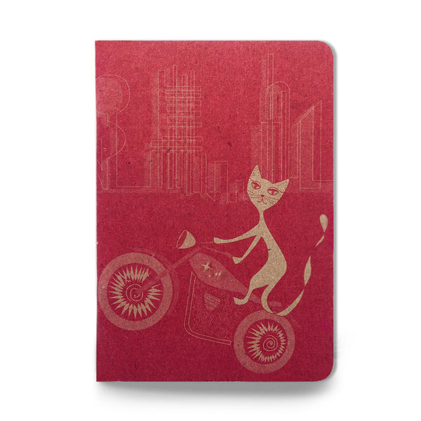 Motor City Kitty pocket sketch notebook