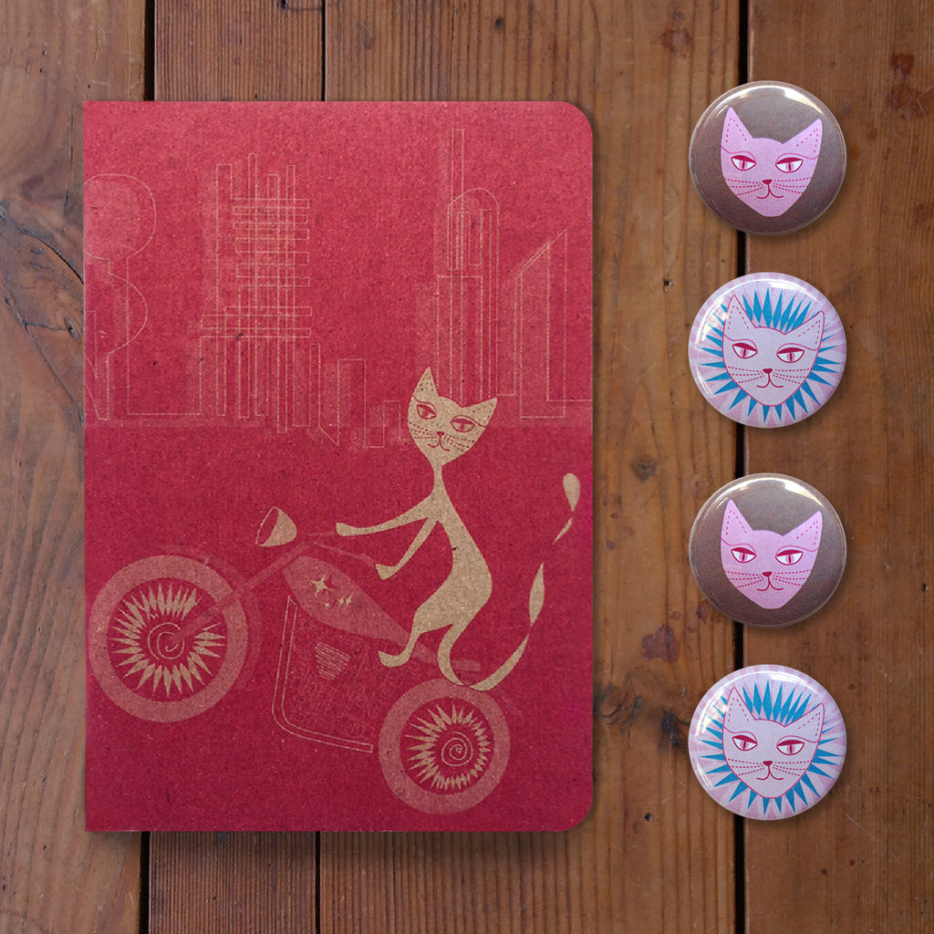Motor Kitty Gift Package