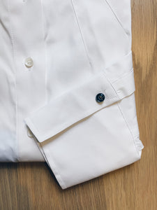 White Button Down Tailored Shirt