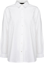 Load image into Gallery viewer, Two Danes White Button Up Blouse