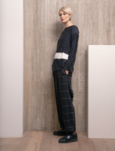 Ozai N Kū Plaid Trousers