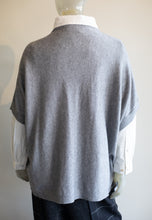 Load image into Gallery viewer, Mock Neck Poncho Sweater