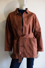 Load image into Gallery viewer, Button Down Twill Barn Jacket