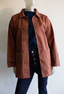 Button Down Twill Barn Jacket