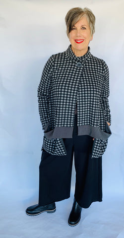 Alembika Checkered Plaid Jacket