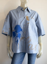 Load image into Gallery viewer, Short Sleeve Cotton Blouse