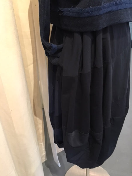 Moyuru Black Tulip Skirt