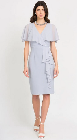 Ribkoff Flutter Sleeve Dress