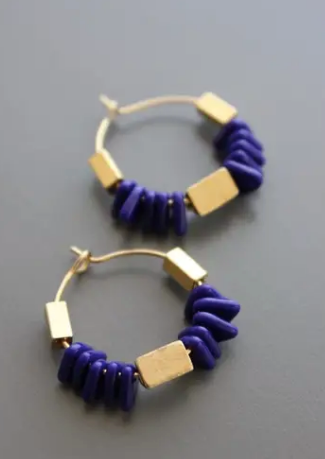 David Aubrey Small Hoops