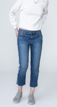 Load image into Gallery viewer, Side Seam Girlfriend Jeans