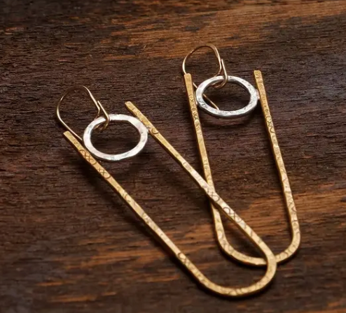 Long Arch Earrings