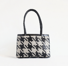 Load image into Gallery viewer, Biembien Ella Houndstooth Handbag