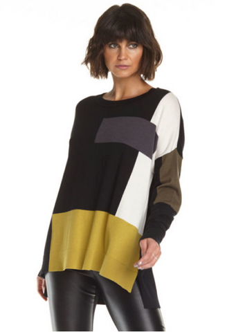 Planet Blocks Sweater
