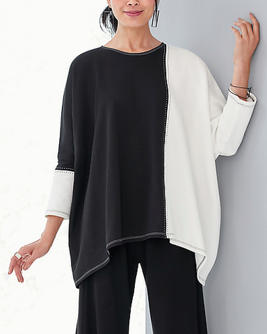 Spirithouse French Terry Blouse