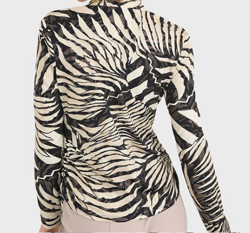 Ribkoff Animal Print Blouse