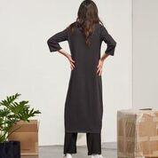 Kowtow V-Neck Knit Dress