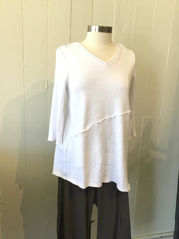 Kedziorereck French Terry Knit Blouse