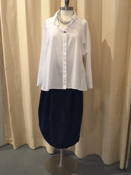 Moyuru White Blouse