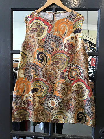 Bryan Walker Relaxed Paisley Tunic
