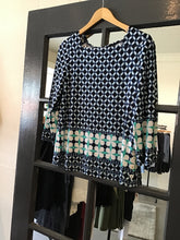 Load image into Gallery viewer, Ribkoff Mosaic Print Blouse