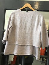 Load image into Gallery viewer, Ellamoda Double Layer Linen Blouse