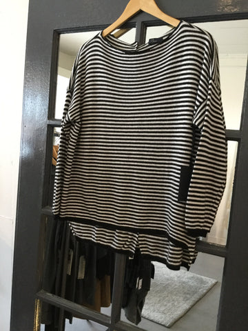 Baci Striped Sweater