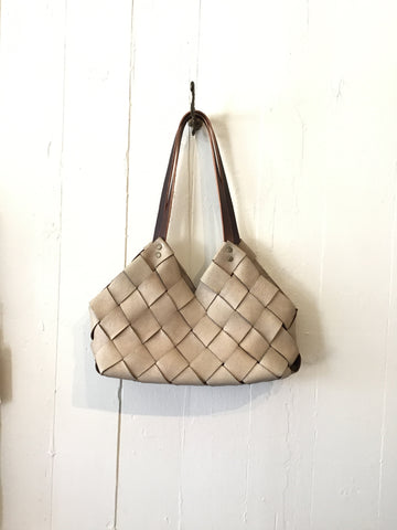 Handwoven Leather Bag