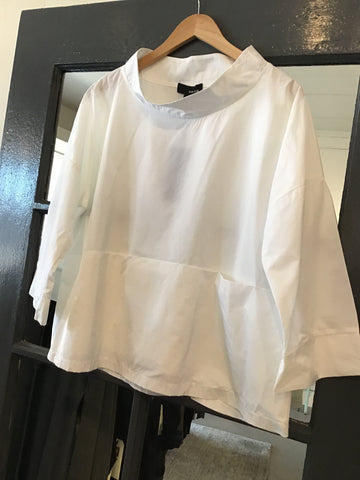 Sun Kim Mock Neck Blouse