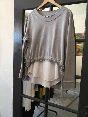 Planet Drawstring Blouse