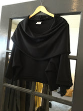 Load image into Gallery viewer, Planet Cowl Crop Blouse