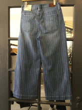 Load image into Gallery viewer, Subtle Stripe Wide Leg Jean