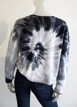 Load image into Gallery viewer, Brodie Floral Tie Dye Cashmere Sweater