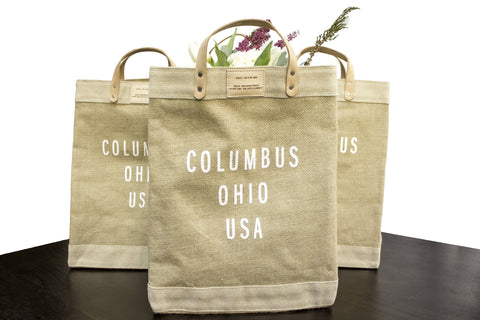 Columbus O H I O Market Bag