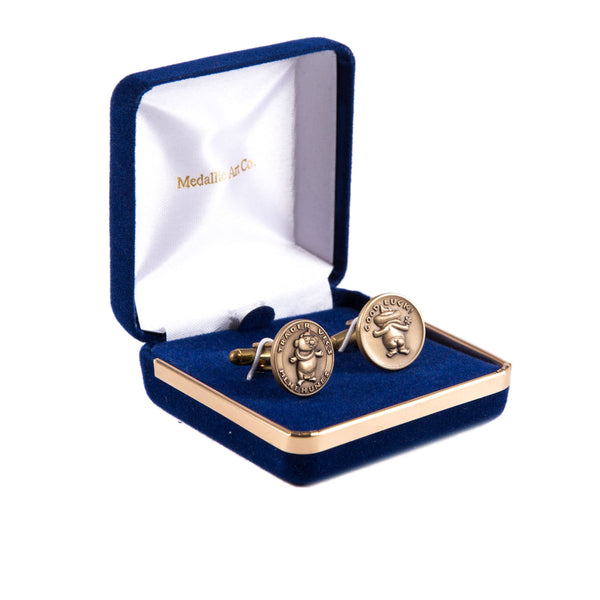 Bronze Menehune Cufflinks (Pair)