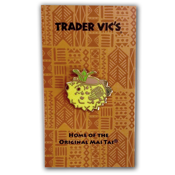 Trader Vic's Blowfish Pin | Home of the Original Mai Tai