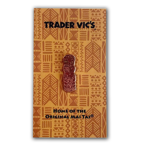 Trader Vic's Maori Haka Pin | Home of the Original Mai Tai