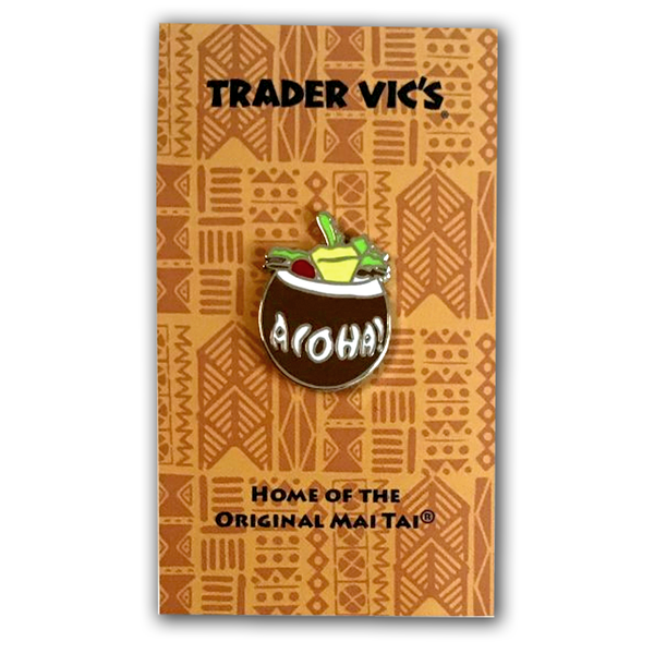 Trader Vic's Coconut Pin | Home of the Original Mai Tai