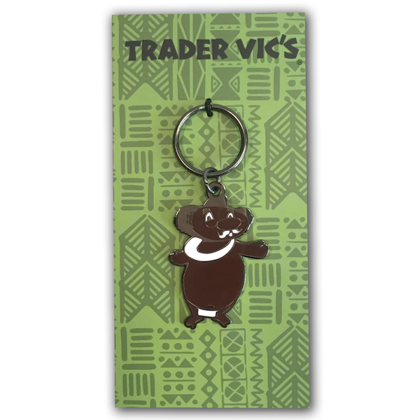 Trader Vic's Menehune Keychain | Home of the Original Mai Tai