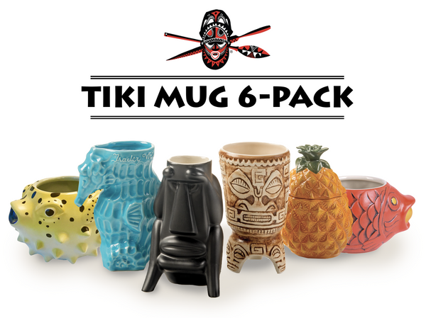 TIKI MUG 6-PACK (online only)