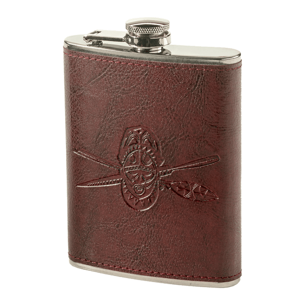 TRADER VIC'S LEATHER FLASK