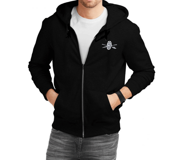 Shield and Oars Zip-up Hoodie
