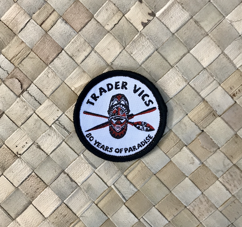 TRADER VIC'S 80 YEAR PATCH